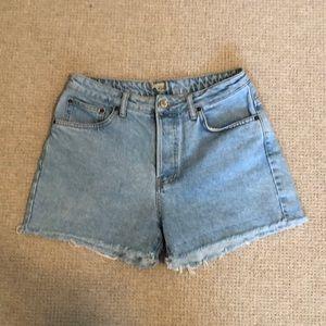 Topshop Ashley Denim Shorts